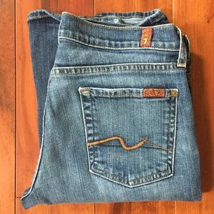 Seven for All Mankind Bootcut Jeans 29x31